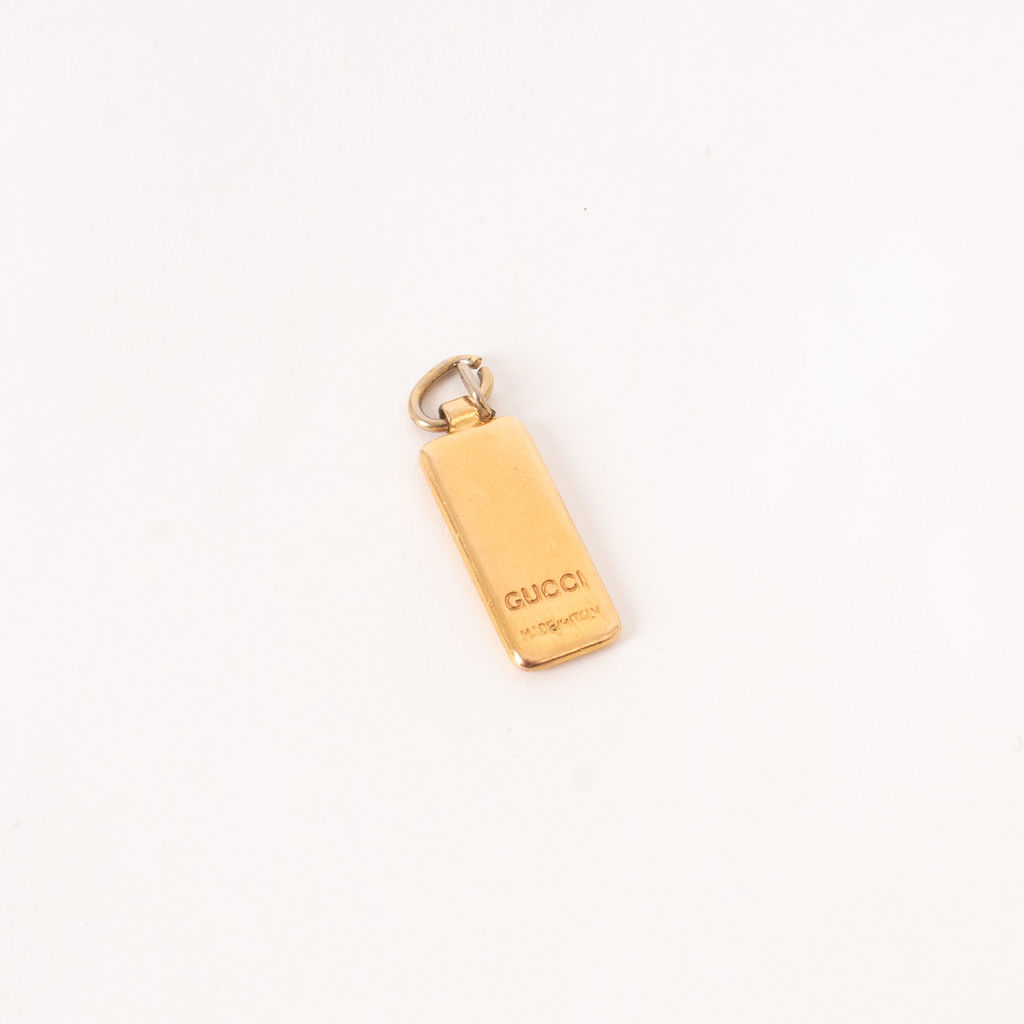 Gucci Rectangle Necklace Pendant