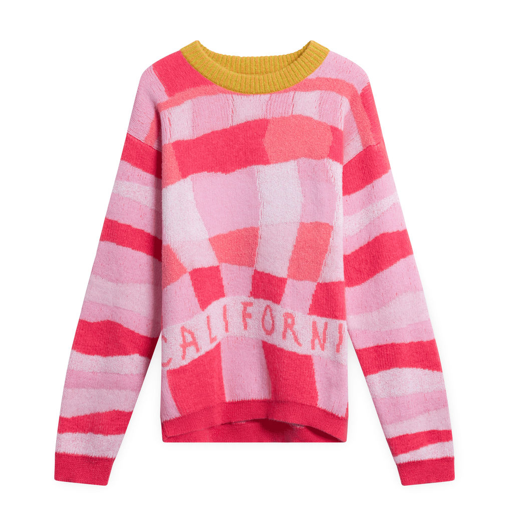 ERL Pink California Sweater