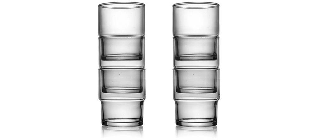 TOYO-SASAKI GLASS CO Hard Strong Stacking Glasses