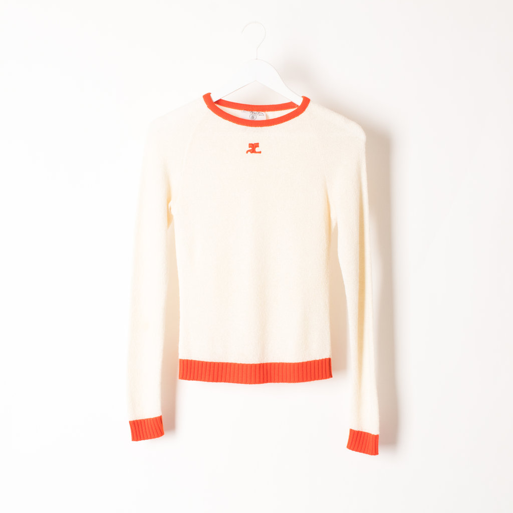 Vintage Courreges Sweater + Skirt Set curated by Henrik PURIENNE