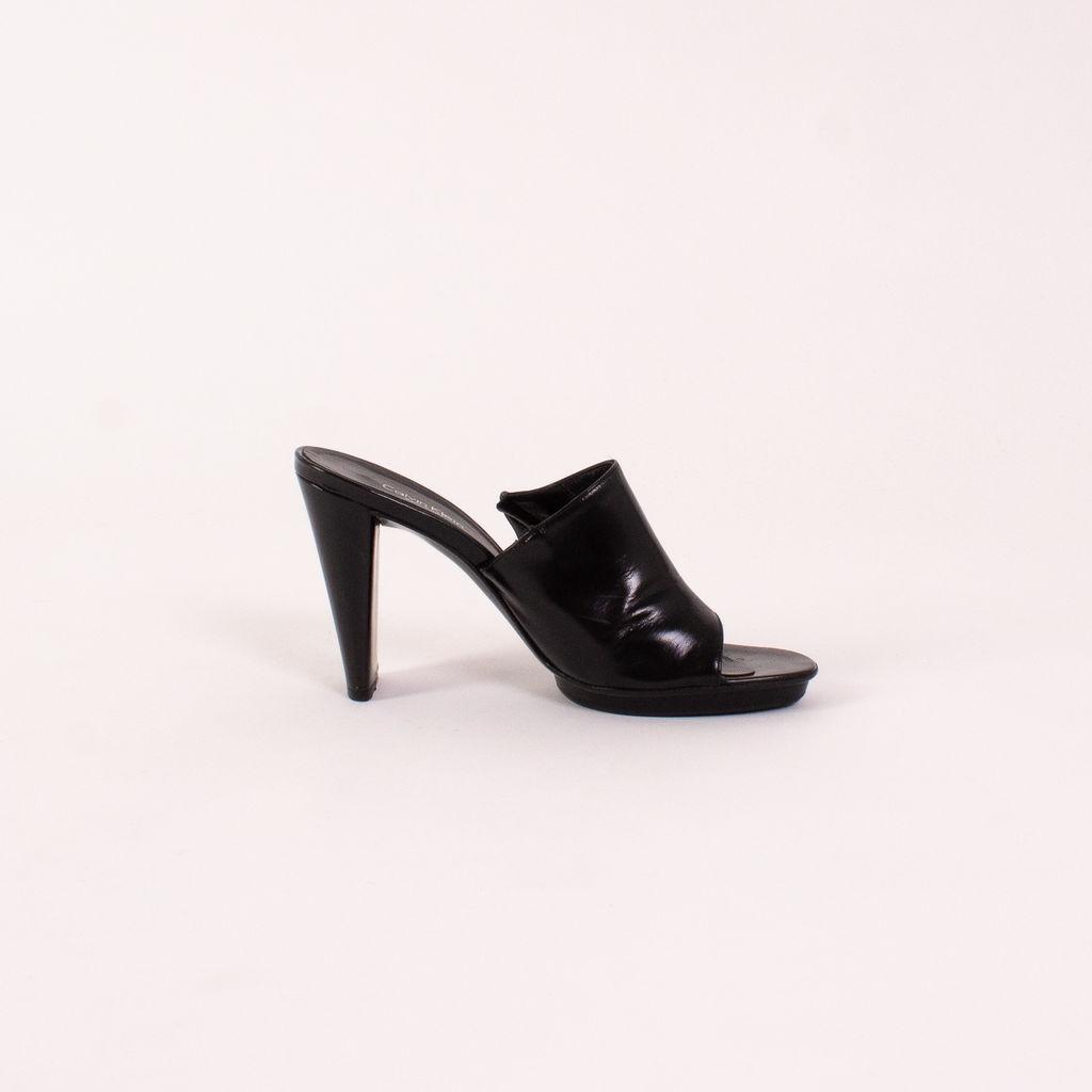 Vintage Calvin Klein Black mules