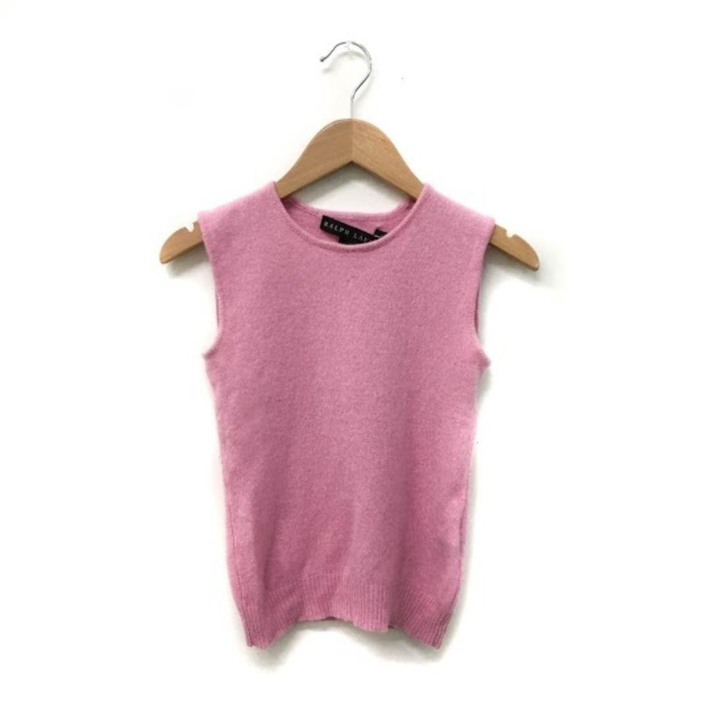 Vintage Baby Pink Ralph Lauren Cashmere Top