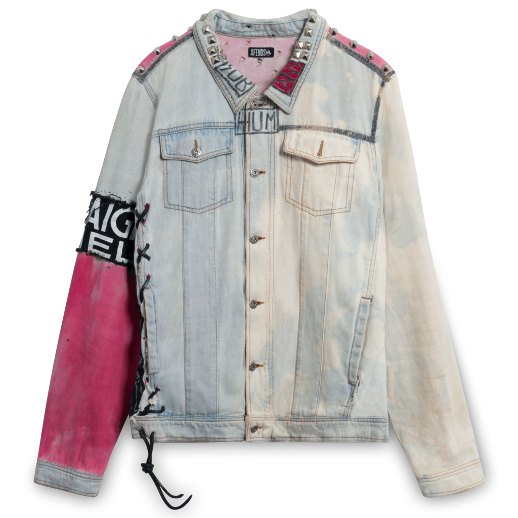 Creative Violence Light Denim Jacket