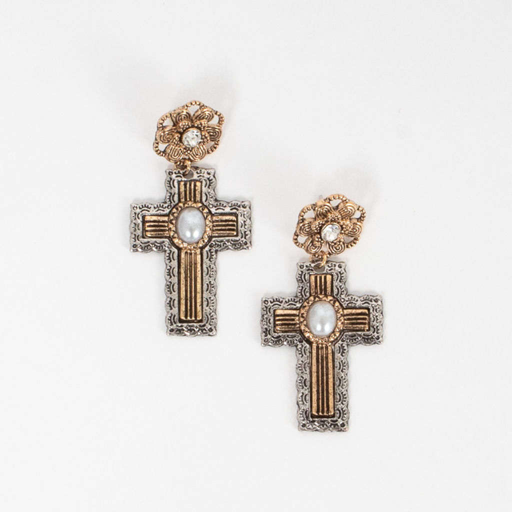 8 Other Reasons Holy Cross Shaped Earrings
