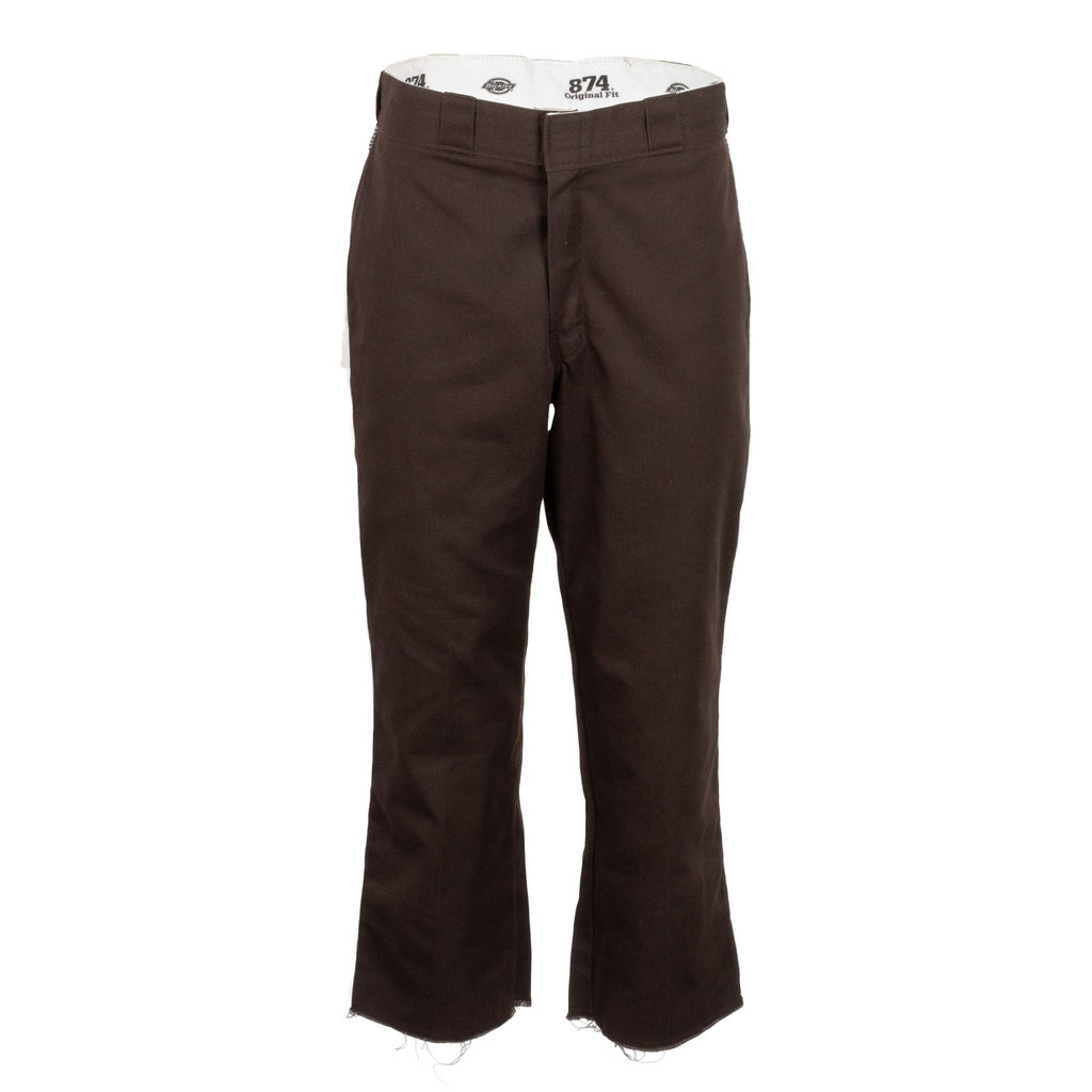 Dickies Cutoff 874 Work Pants in Dark Brown