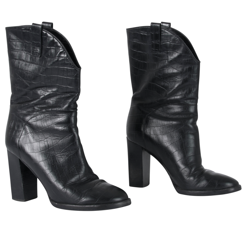 Sigerson Morrison Leather Heel