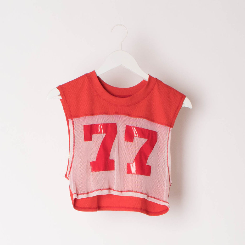 Minimale Animale 77 Cropped Top