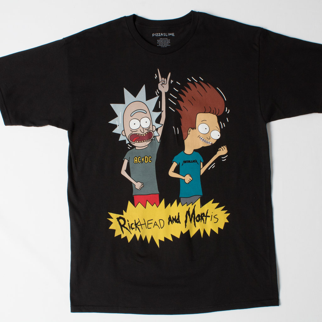 Pizza Slime Rickhead and Mortis T-Shirt