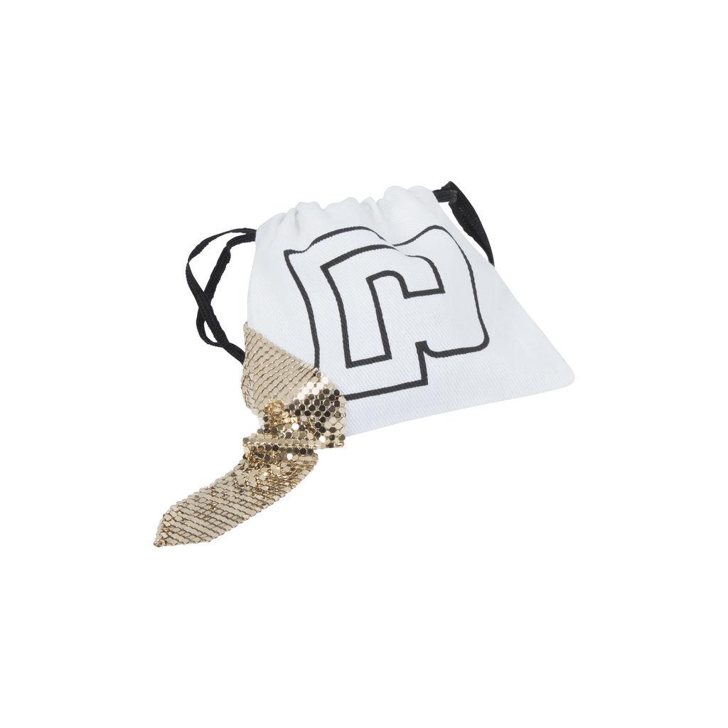 Paco Rabanne Chainmail Earrings- Bronze