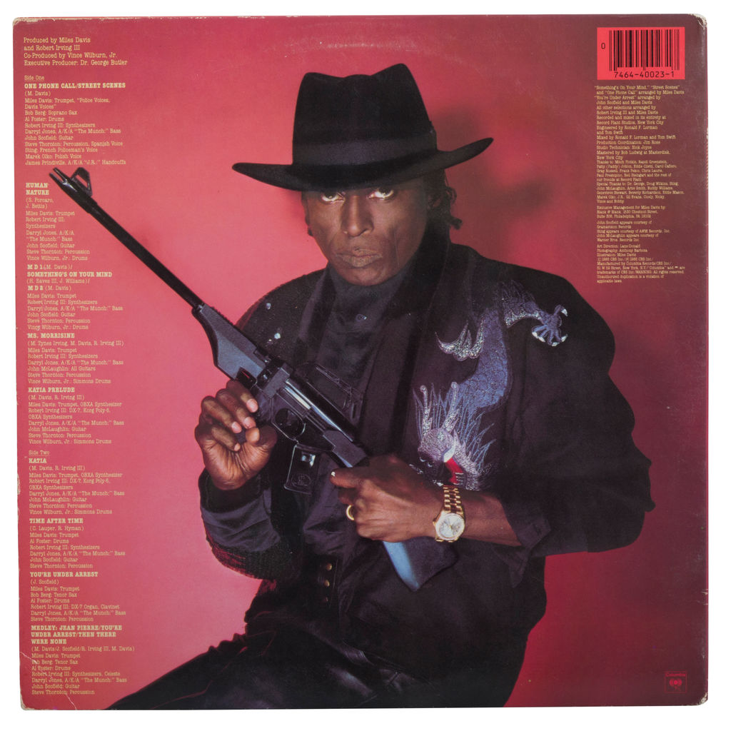Miles Davis You're Under Arrest Vinyl