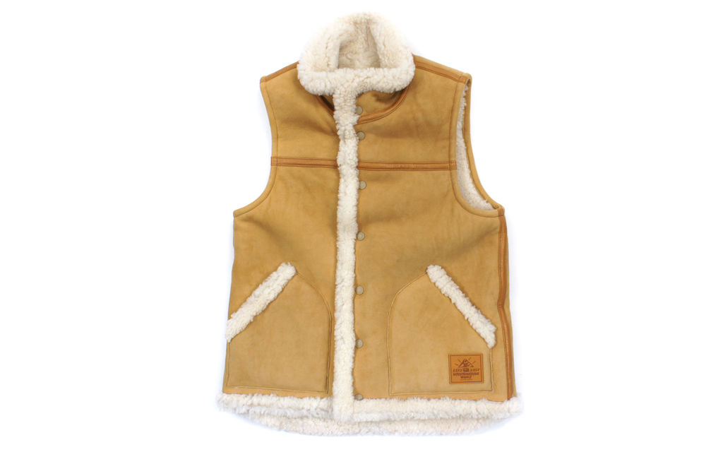 BAPE Sheepskin Vest