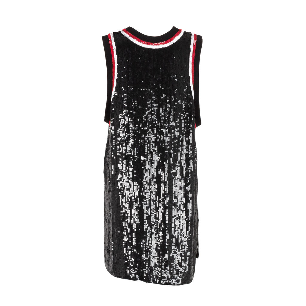 Amen Couture Paillette Embellished Jersey Dress