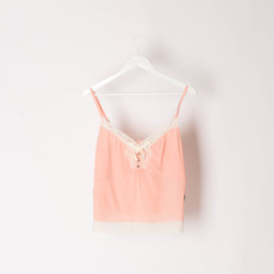 COACH x Selena Gomez Light Pink Camisole curated by Sami Miro
