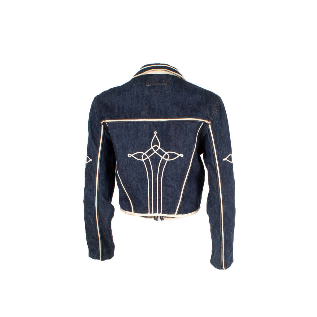 Jean Paul Gaultier Jean's Embellished Cropped Jacket