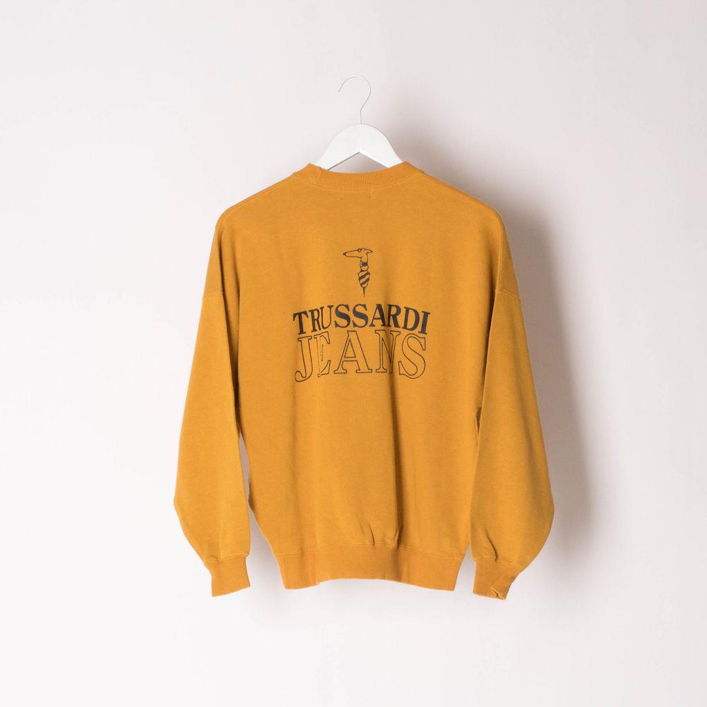 Vintage Trussardi Jeans Logo Pullover
