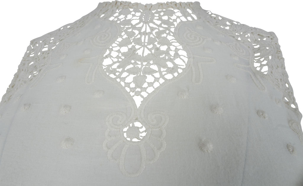 Zimmermann Embroidered Lace Dress