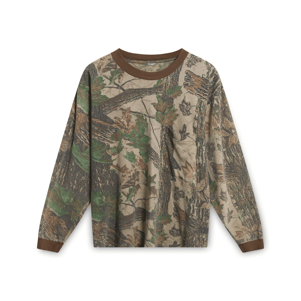 90s Realtree Camo Sweatshirt- Brown And Green