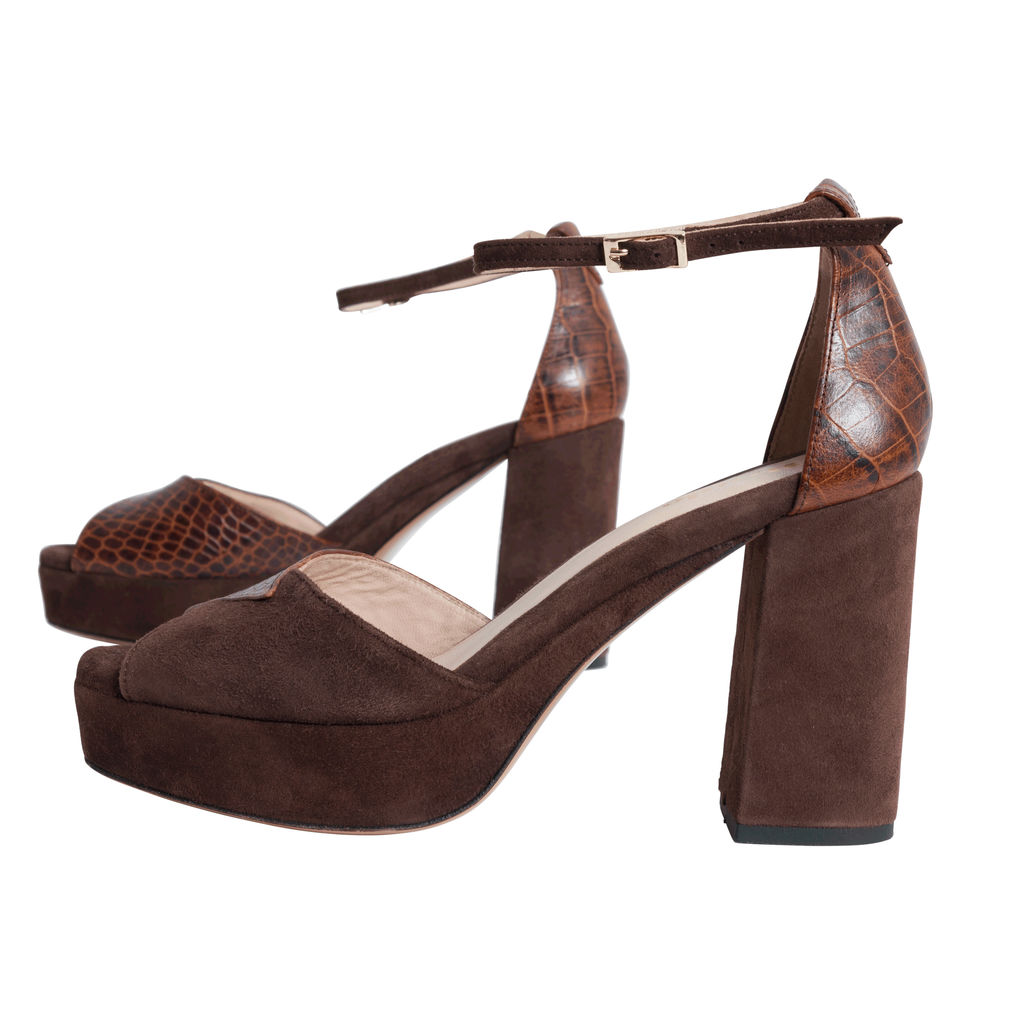 Rouje Claudia Suede Sandals