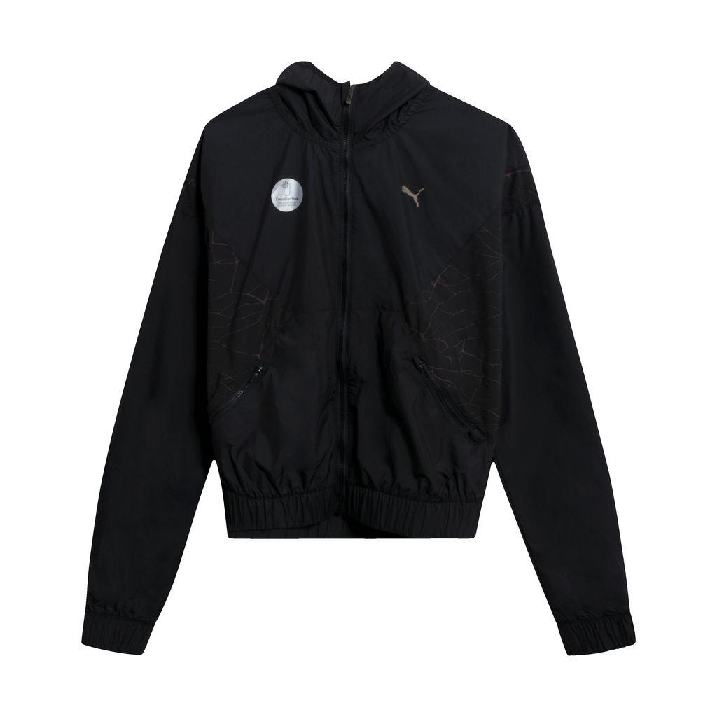 Puma Explosive Arrive Windcell Jacket in Black