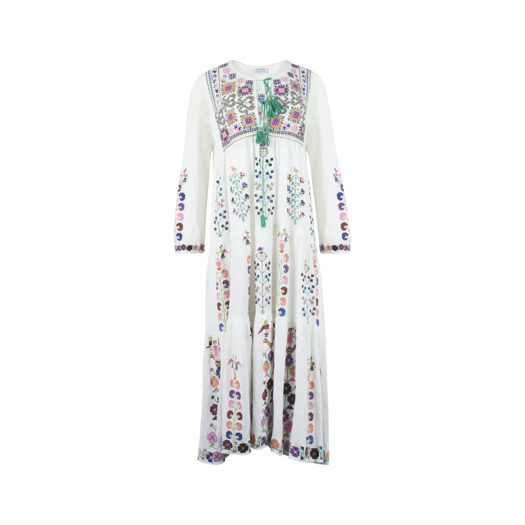 SAMPLE Long Sleeve Dress with Embroidery