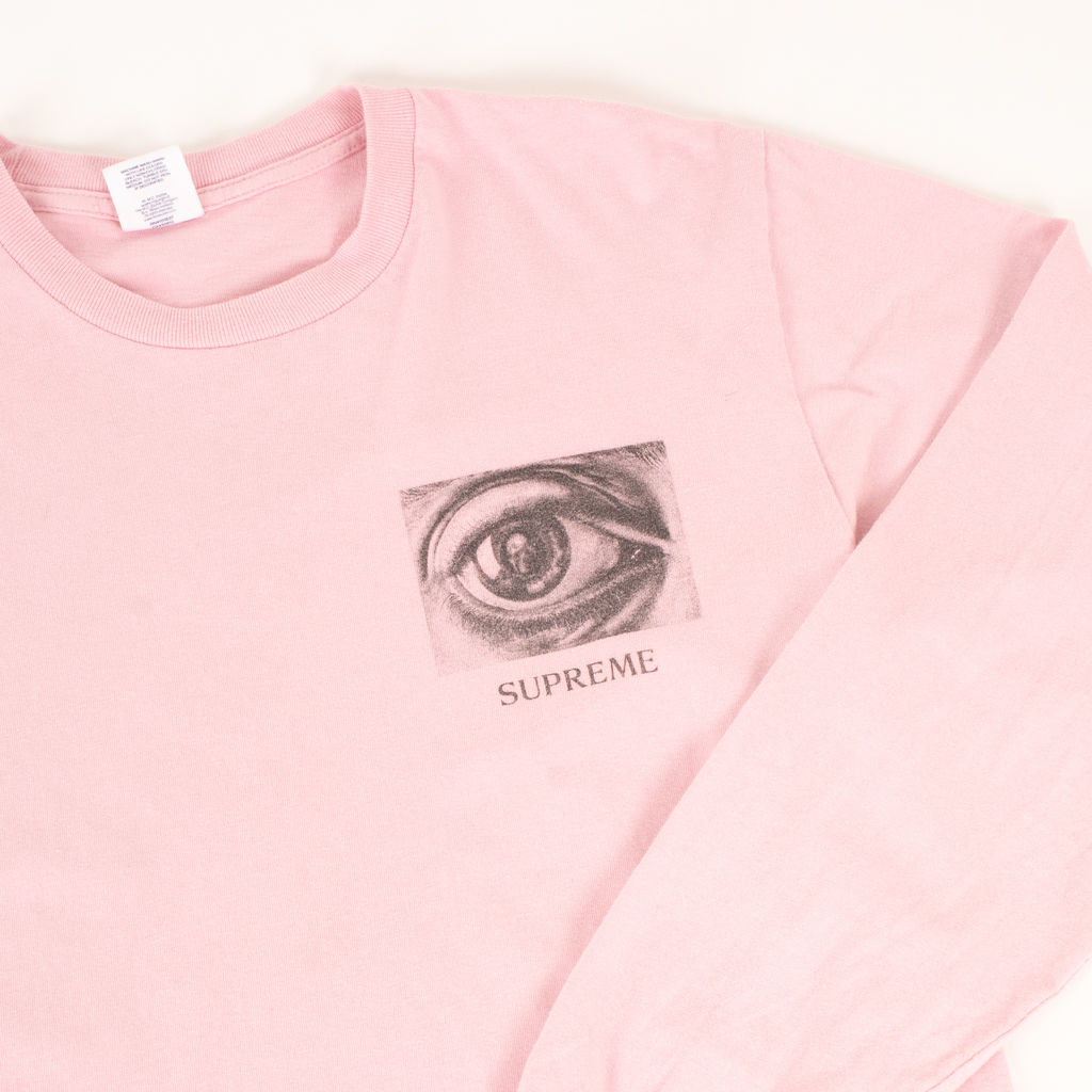 71e1ff77dd64 Supreme MC Escher Eye Long Sleeve Tee | Basic Space