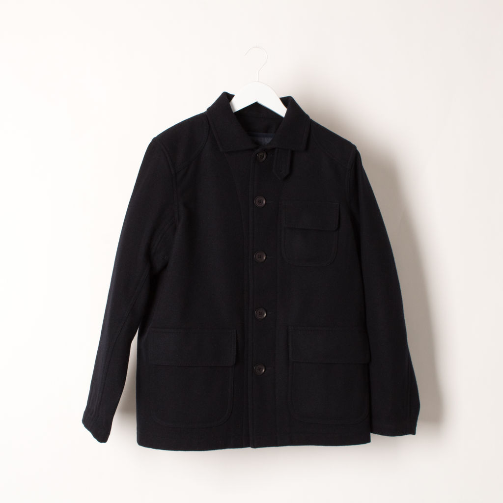 Stussy Deluxe Pea Coat curated by Samii Ryan