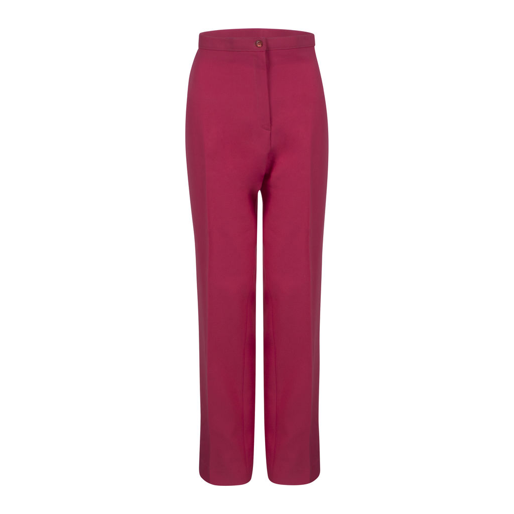 Hot Pink Christenfeld of California Vintage Women's Trousers