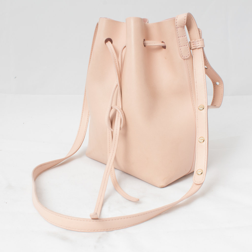 Mansur Gavriel Bucket Bag curated by Lilah Summer