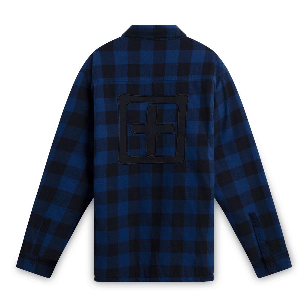 Ksubi Plaid Snap Front Jacket