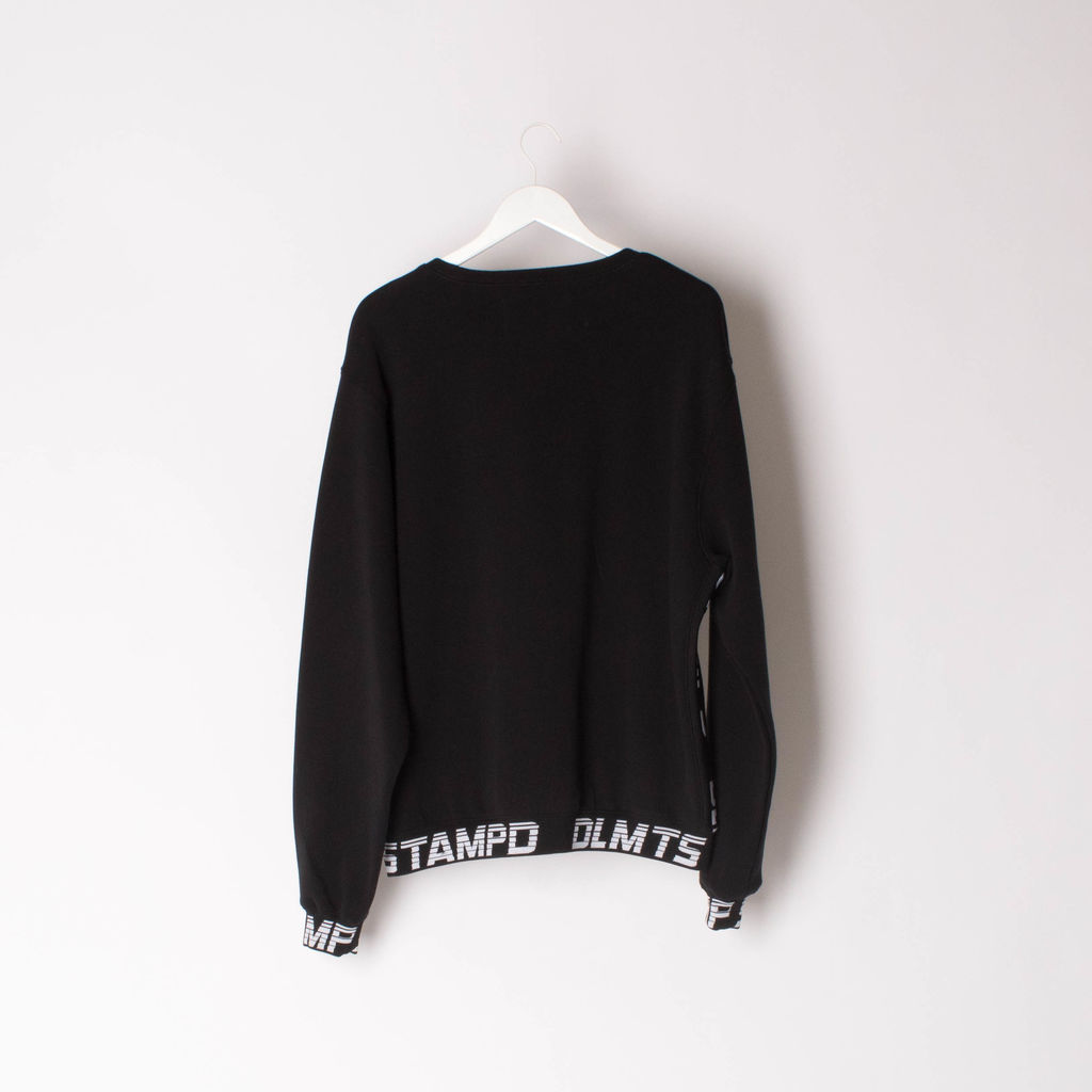 STAMPD Logo-Jacquard Cotton-Blend Sweatshirt