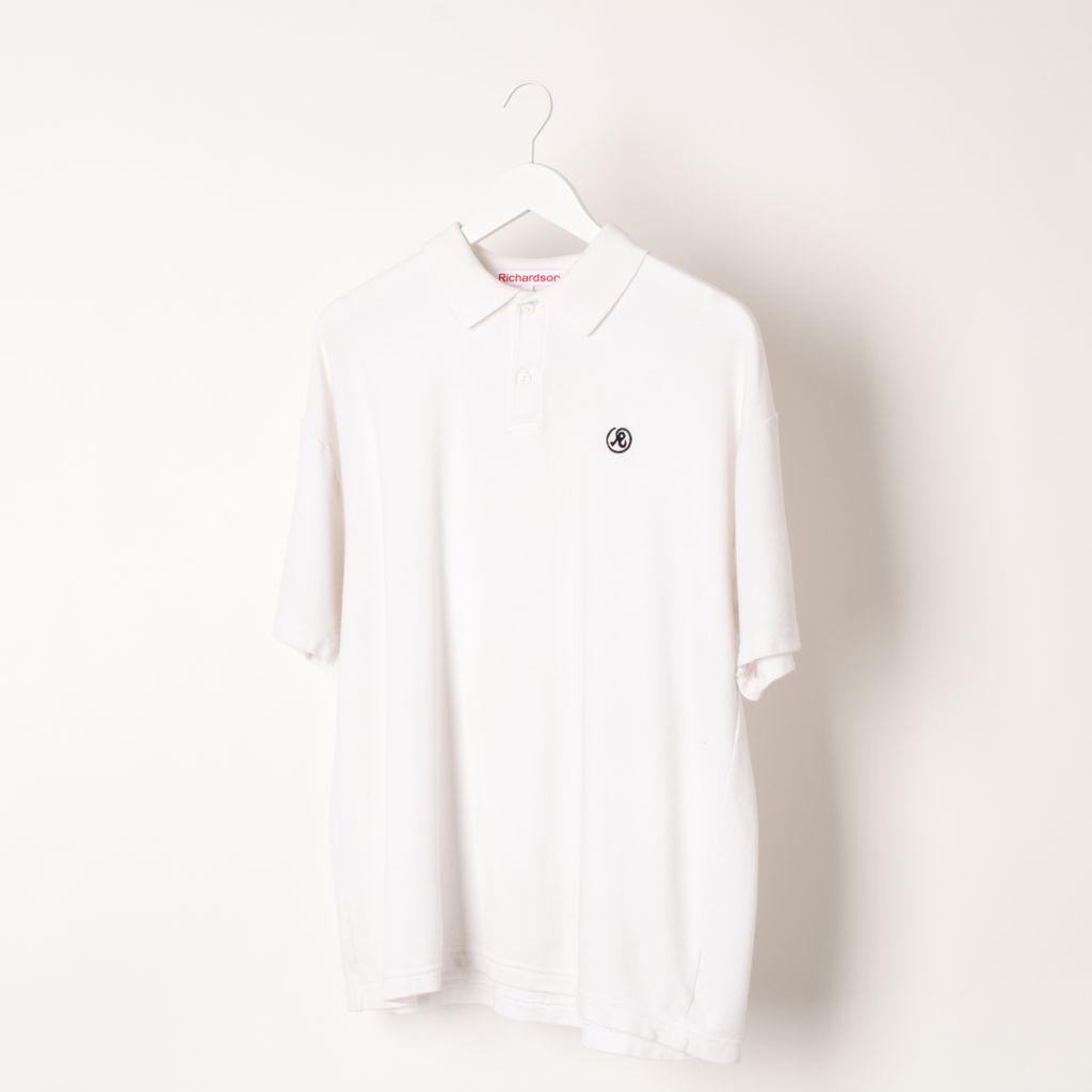 Richardson Glyph Polo Shirt White