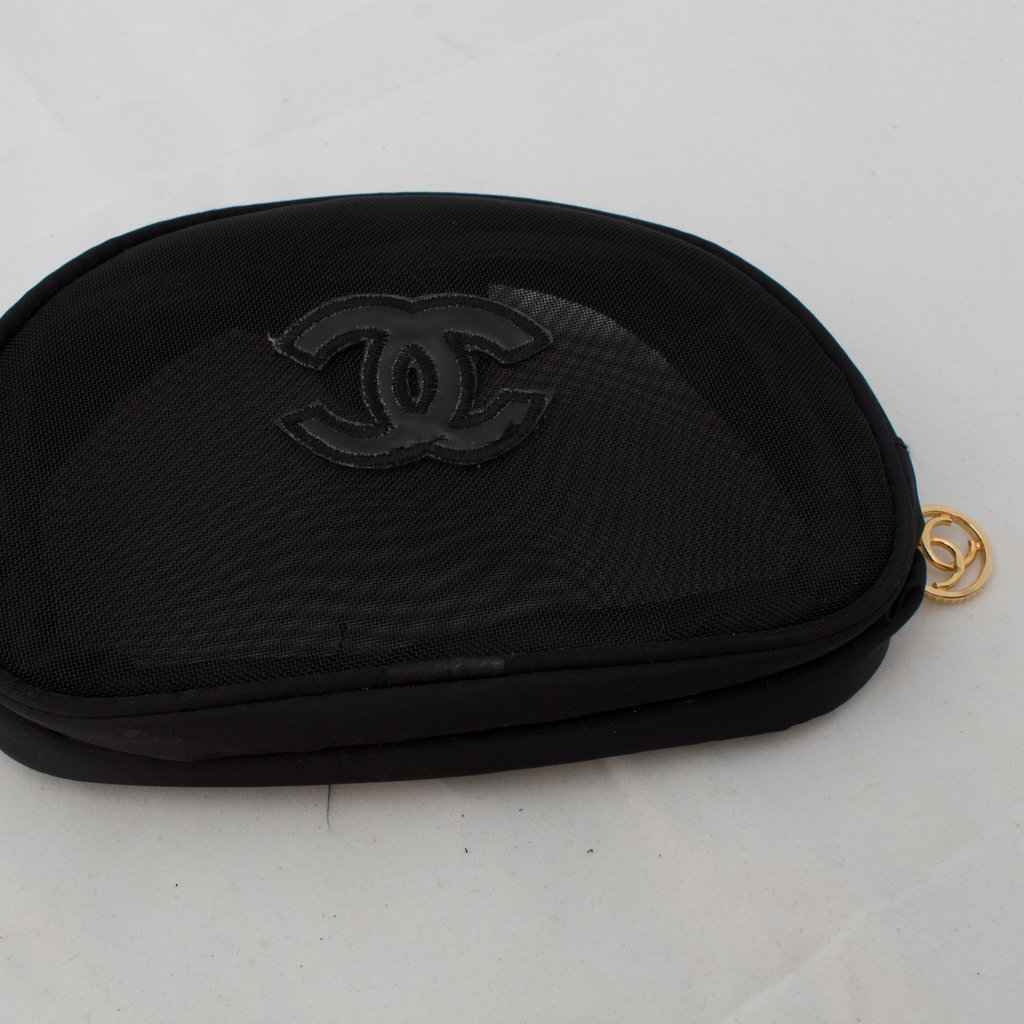 Chanel Mesh Makeup Bag