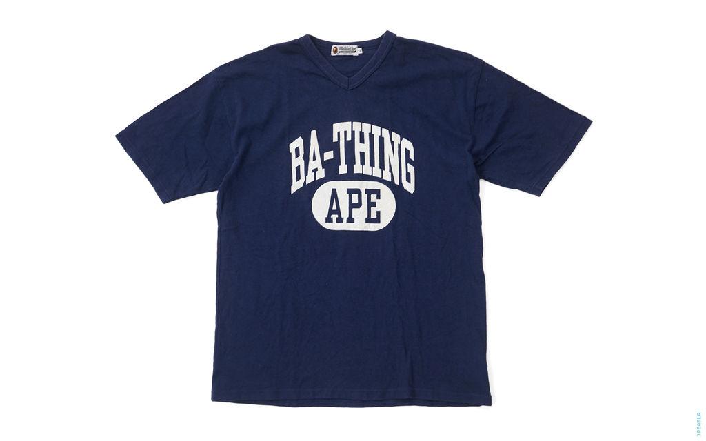 BA-Thing Ape V-Neck Tee navy