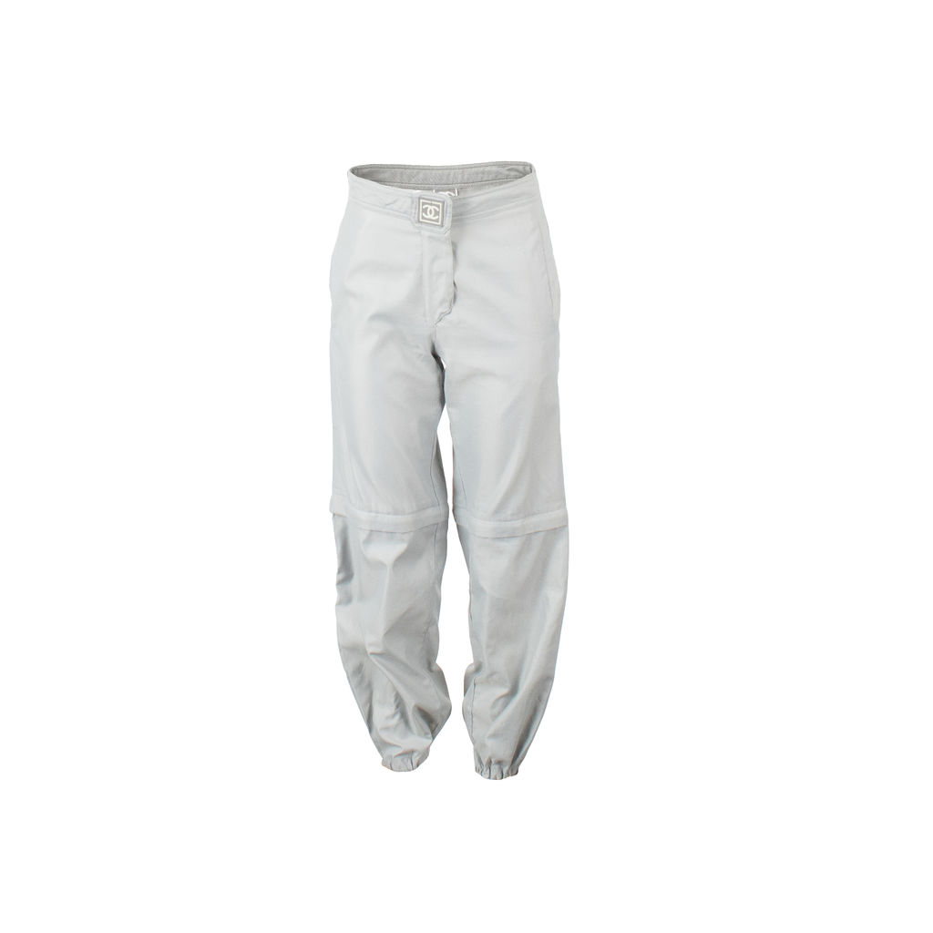 Chanel High Waisted Convertible Joggers