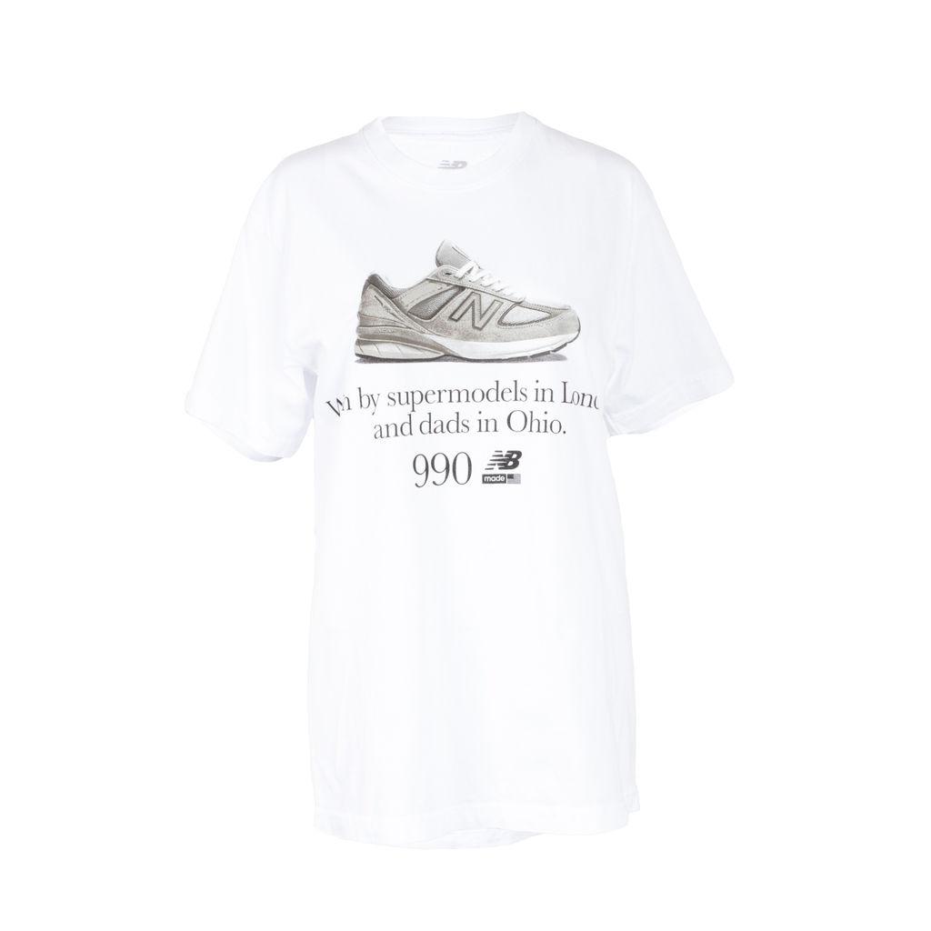 promo code 7258e cdeb6 New Balance 990v5 Supermodels T-Shirt by Seller Selects