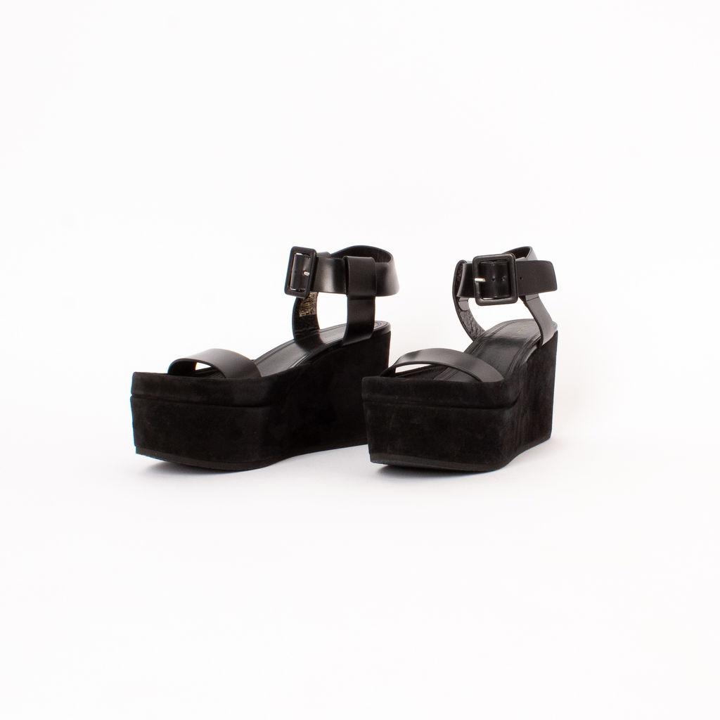 Celine Ankle Strap Platform Sandals