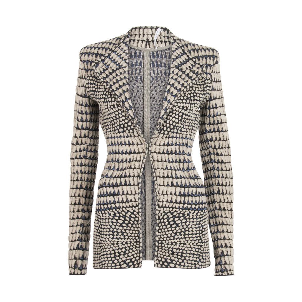 Givenchy Textured Knit Jacket