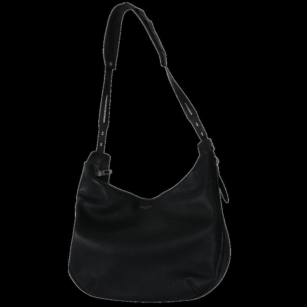 Rag & Bone Bradbury Pebbled Leather Hobo Bag