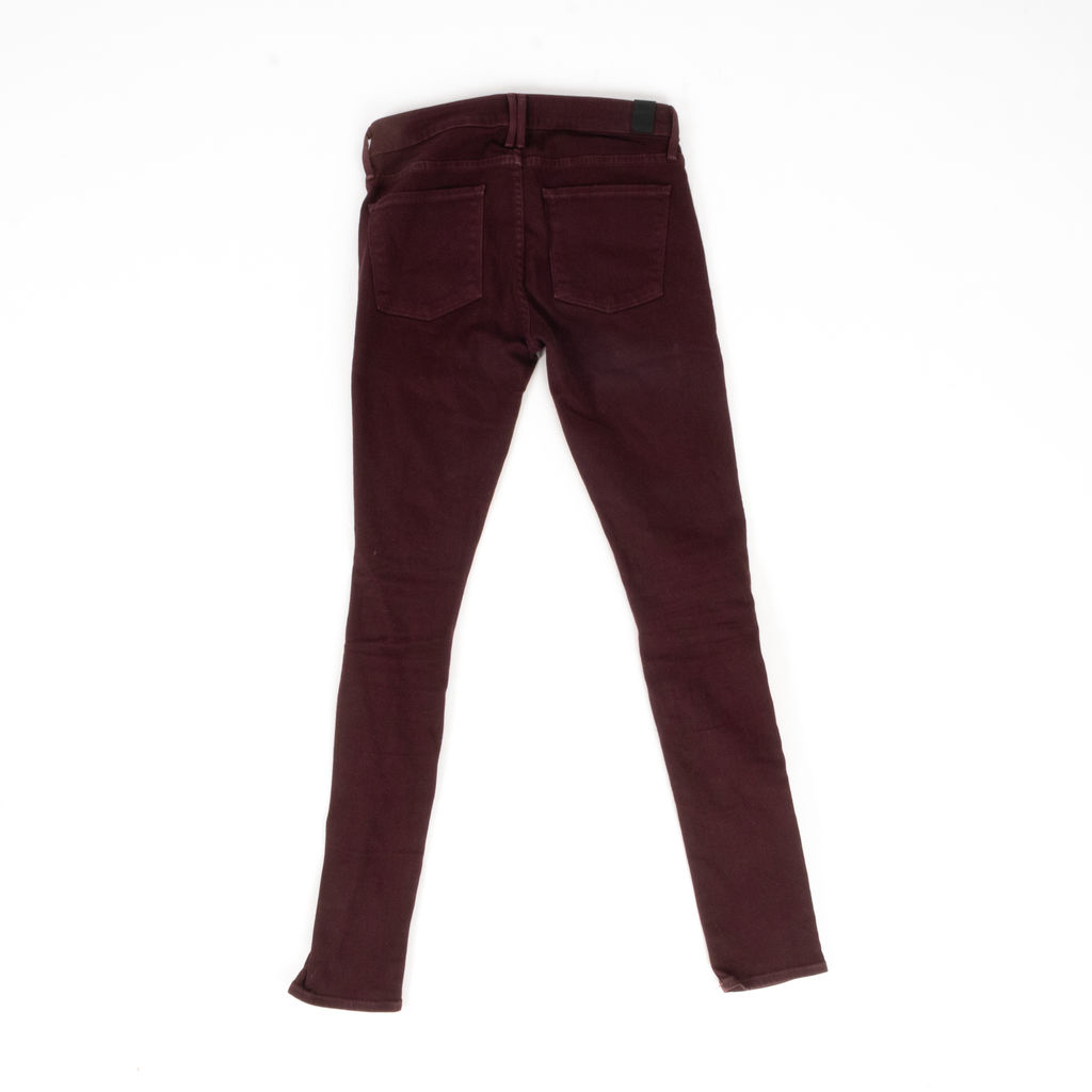 Vince Mid-Rise Skinny Jeans