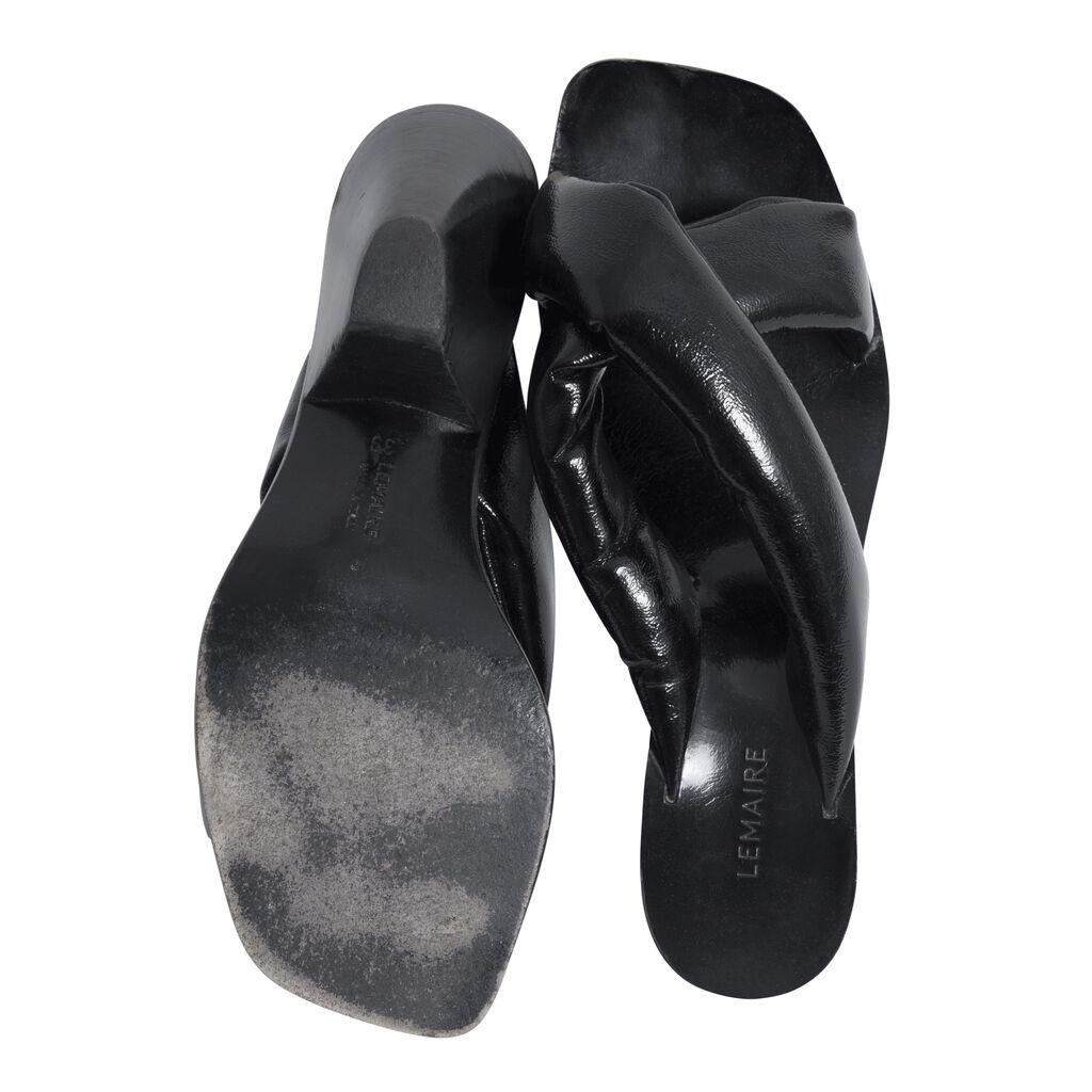 Lemaire Kitten Heels - Black