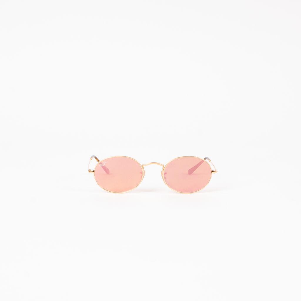 Ray-Ban Oval Flat Lens Sunglasses