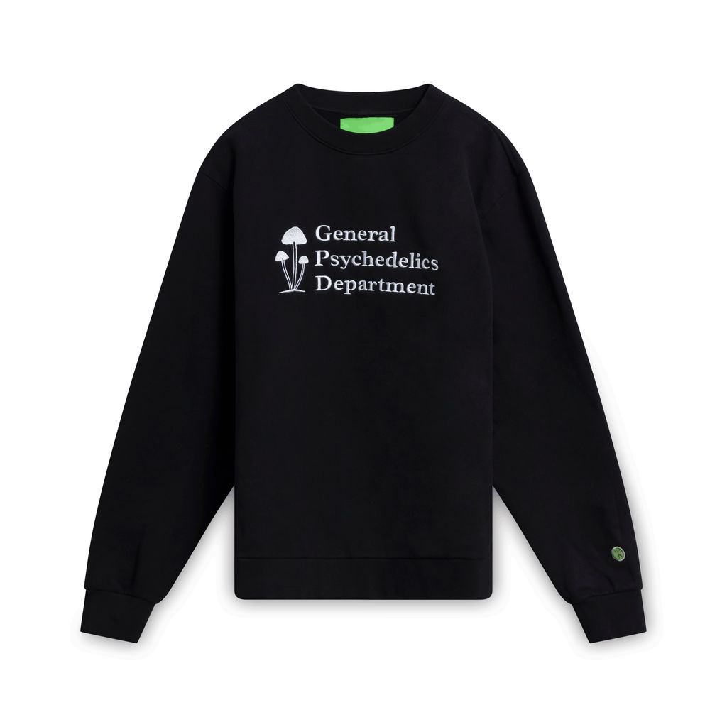 Mister Green General Psychedelics V2 Crewneck - Black