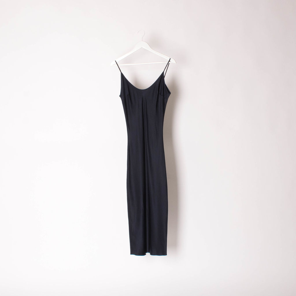 TyLynn Nguyen Calla Silk Slip Dress