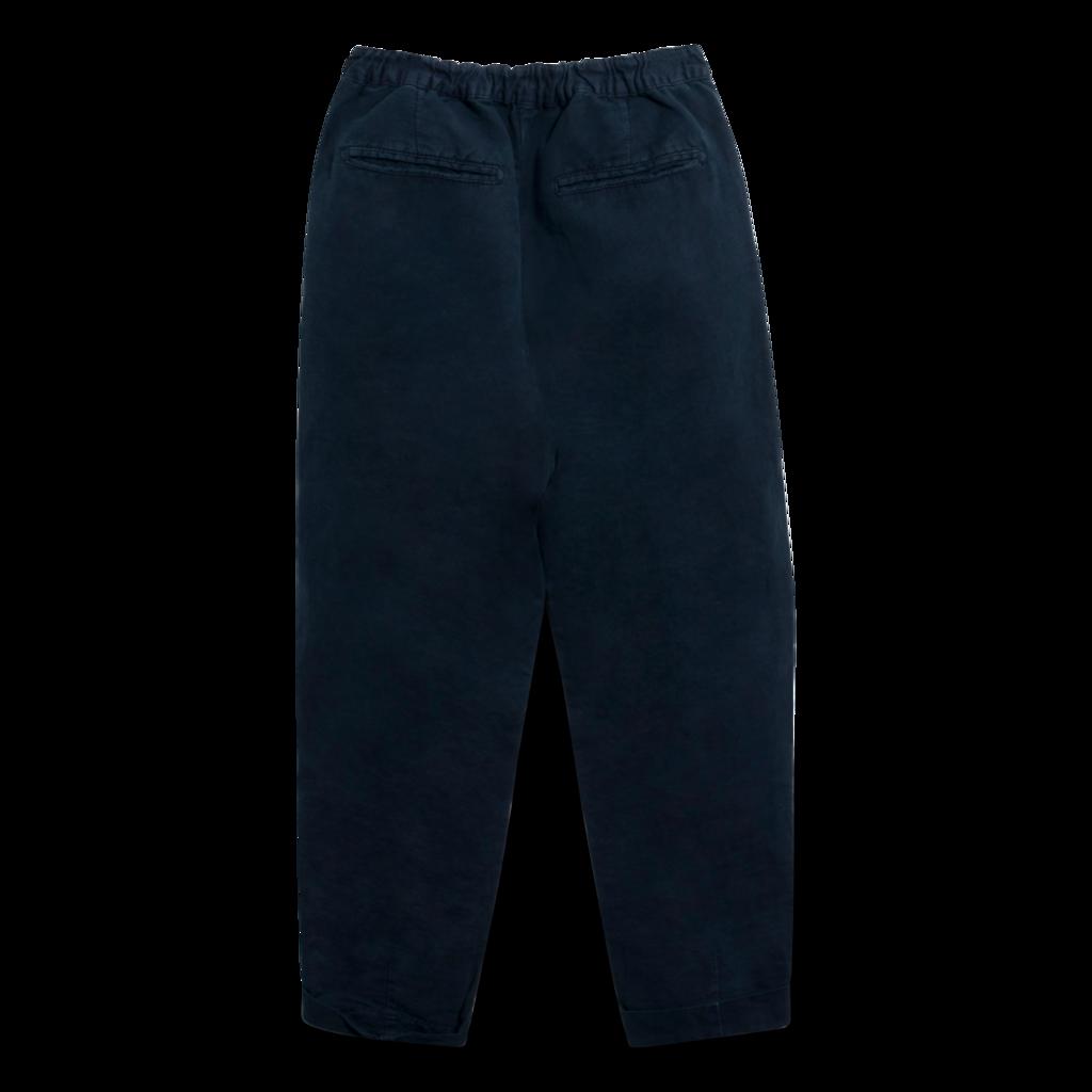 Massimo Alba Boga Cotton Trousers in Navy
