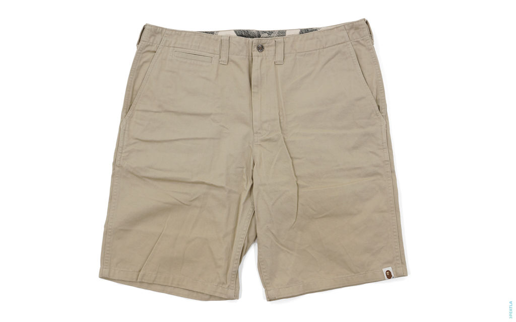 Sketch Camo Lining Chino Shorts light_brown