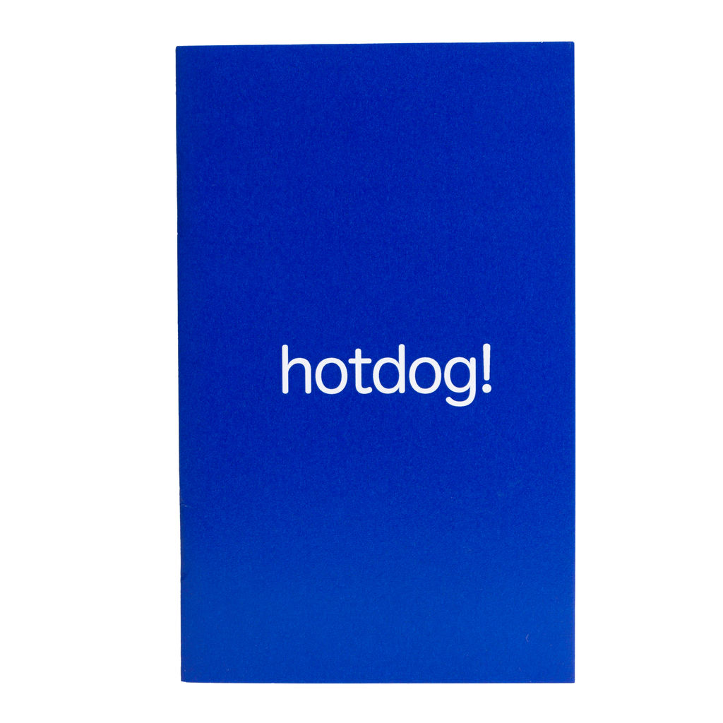 Hotdog Zine (Coloring Book)