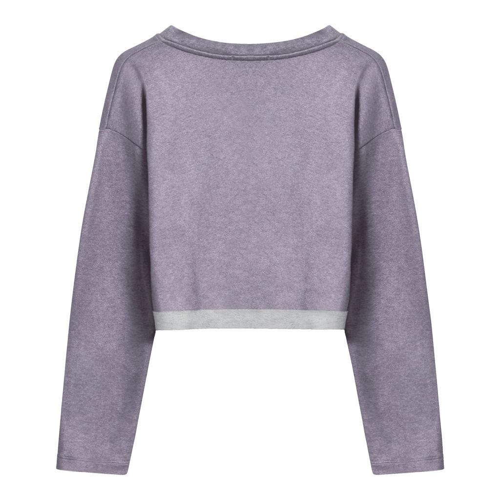 Koral Pullover Sweatshirt in Lavendar