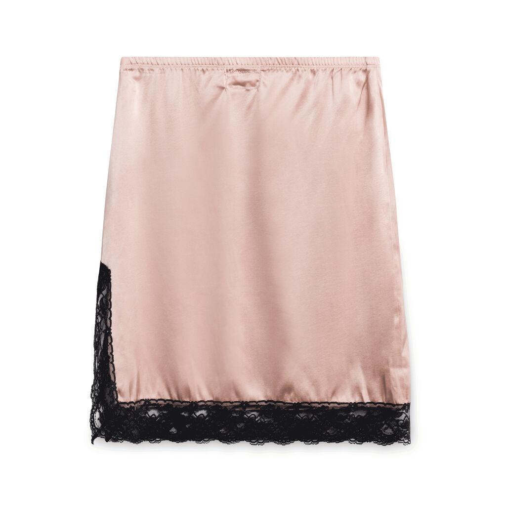 Pink Punk Silk Skirt