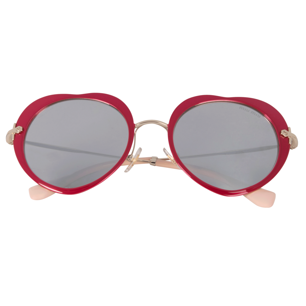 Miu Miu Heart Sunglasses
