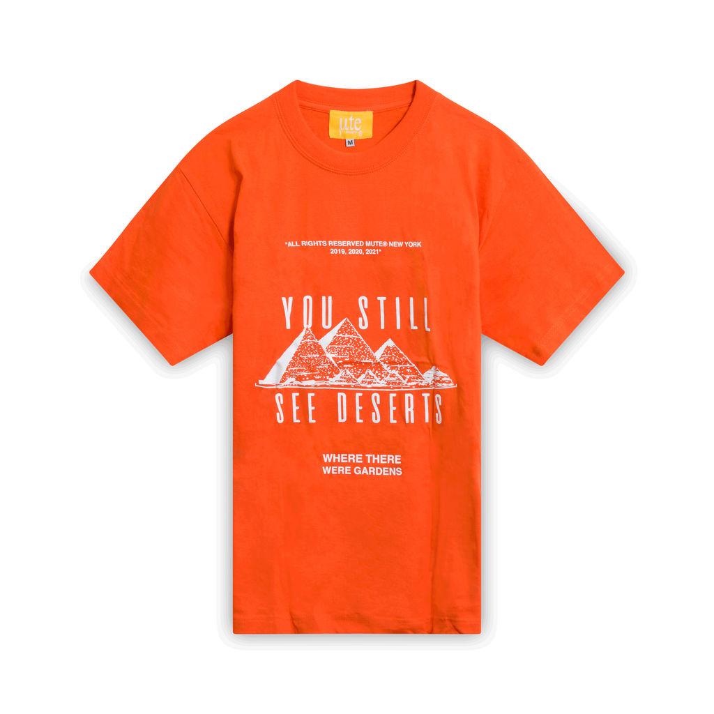 Ozymandias T-Shirt- Orange